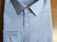 Camisa Lino Celeste Sky