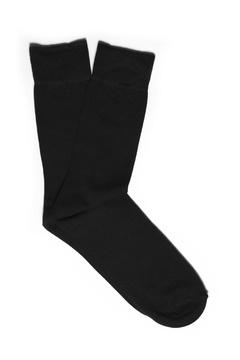 Calcetín liso negro