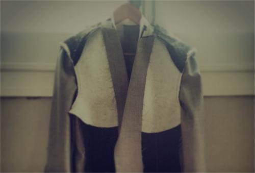 Traje y camisa de prueba