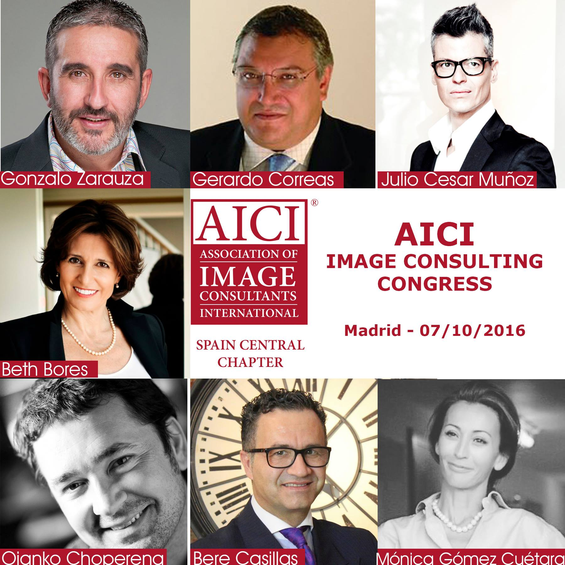 The Image Consulting Congress 2016celebró con éxito su segunda edición en Madrid